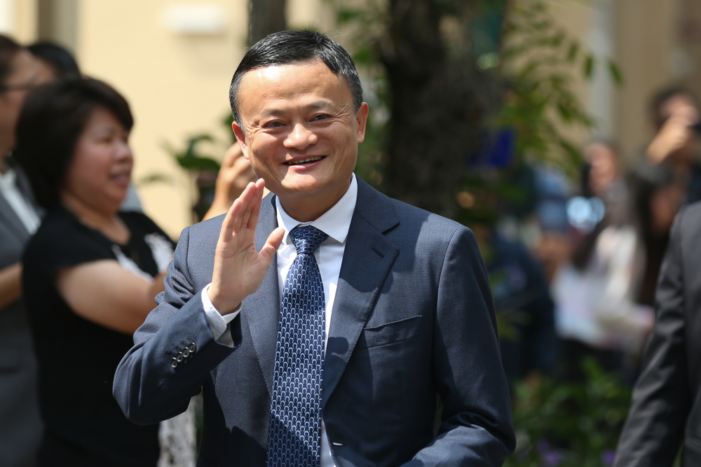 Jack Ma will be stepping down as chairman of the Alibaba board in a year's time.