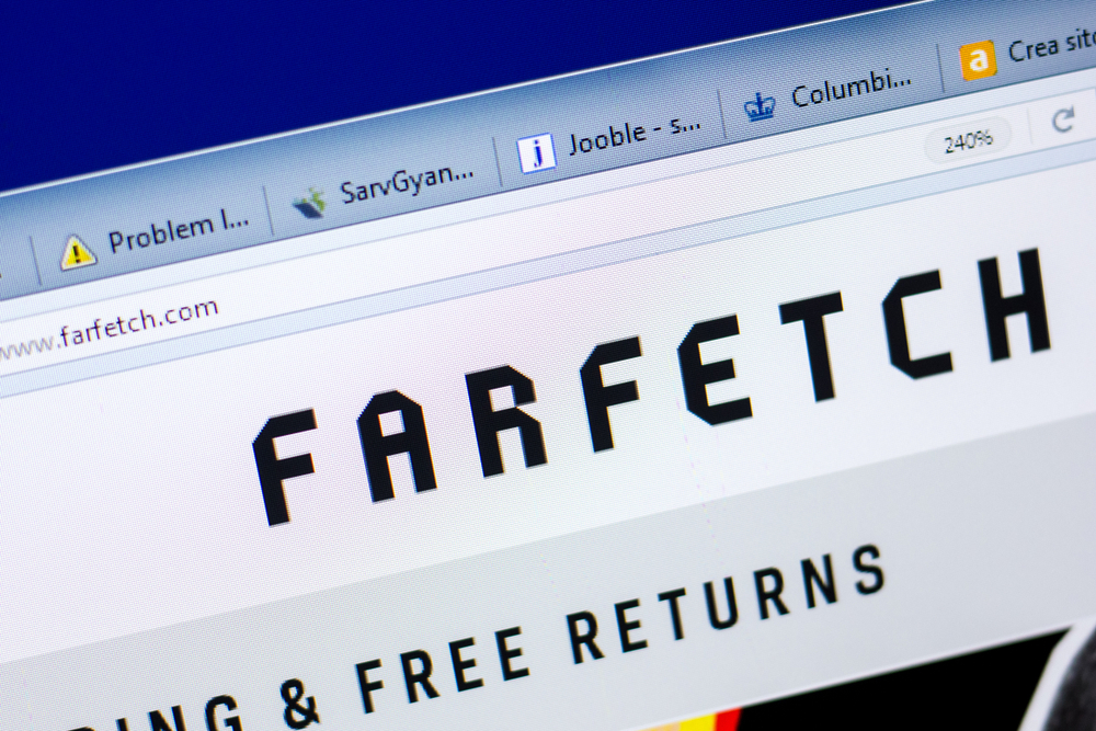 Farfetch reports slowdown in gross merchandise value (GMV) for the first quarter.