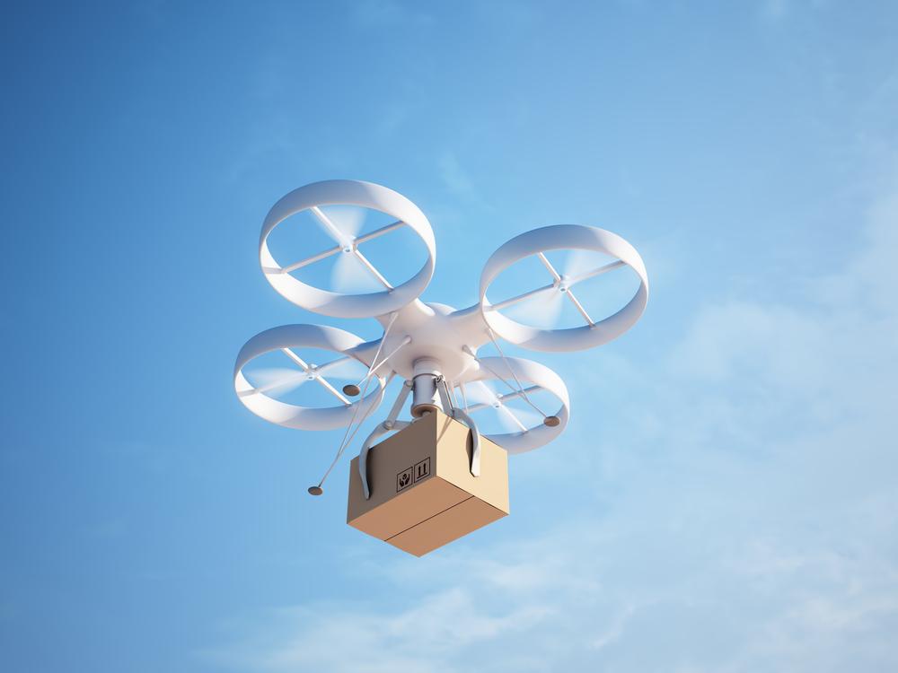 Walmart drone blockchain robot patent application