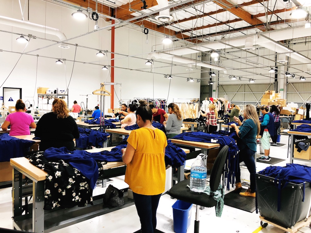 This year Reformation began selling at Nordstrom in the U.S. and Browns in the U.K. The company brought on a team of temporary sewers and finishers to help increase its inventory.