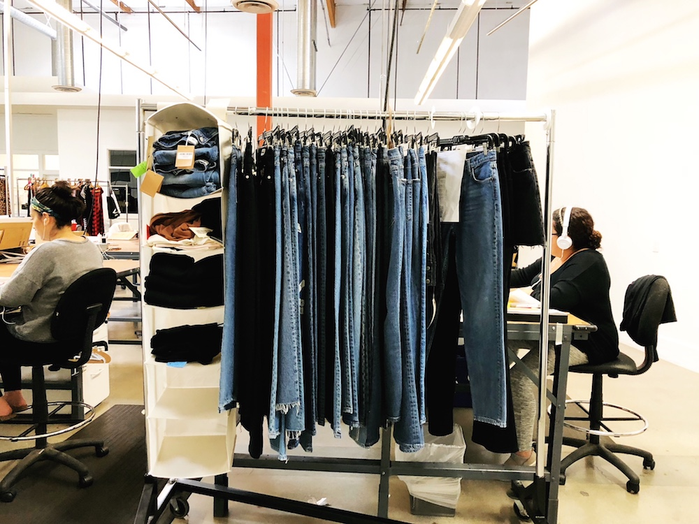 Ref Jeans are made in L.A. using deadstock or sustainable denim fabrics.