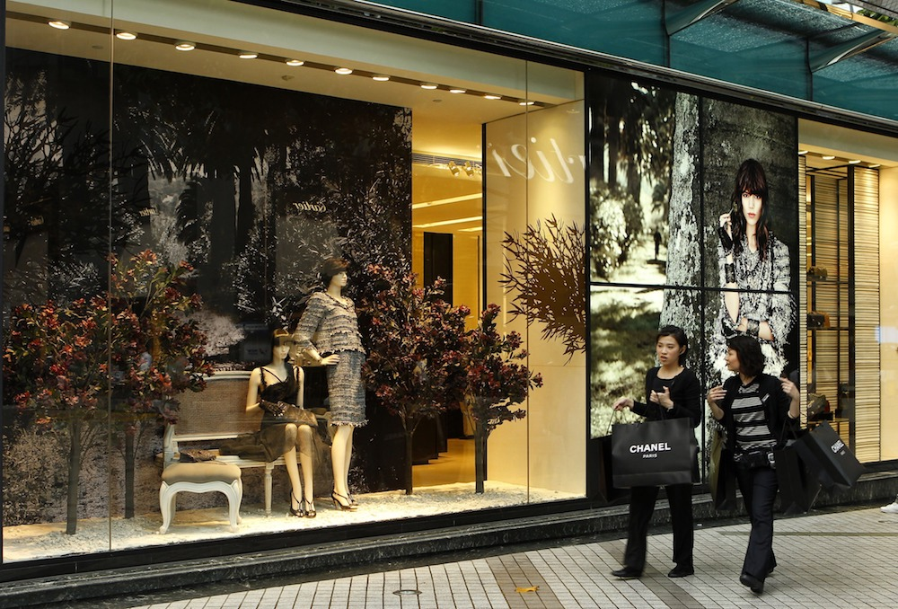 Luxury Shoppers in China