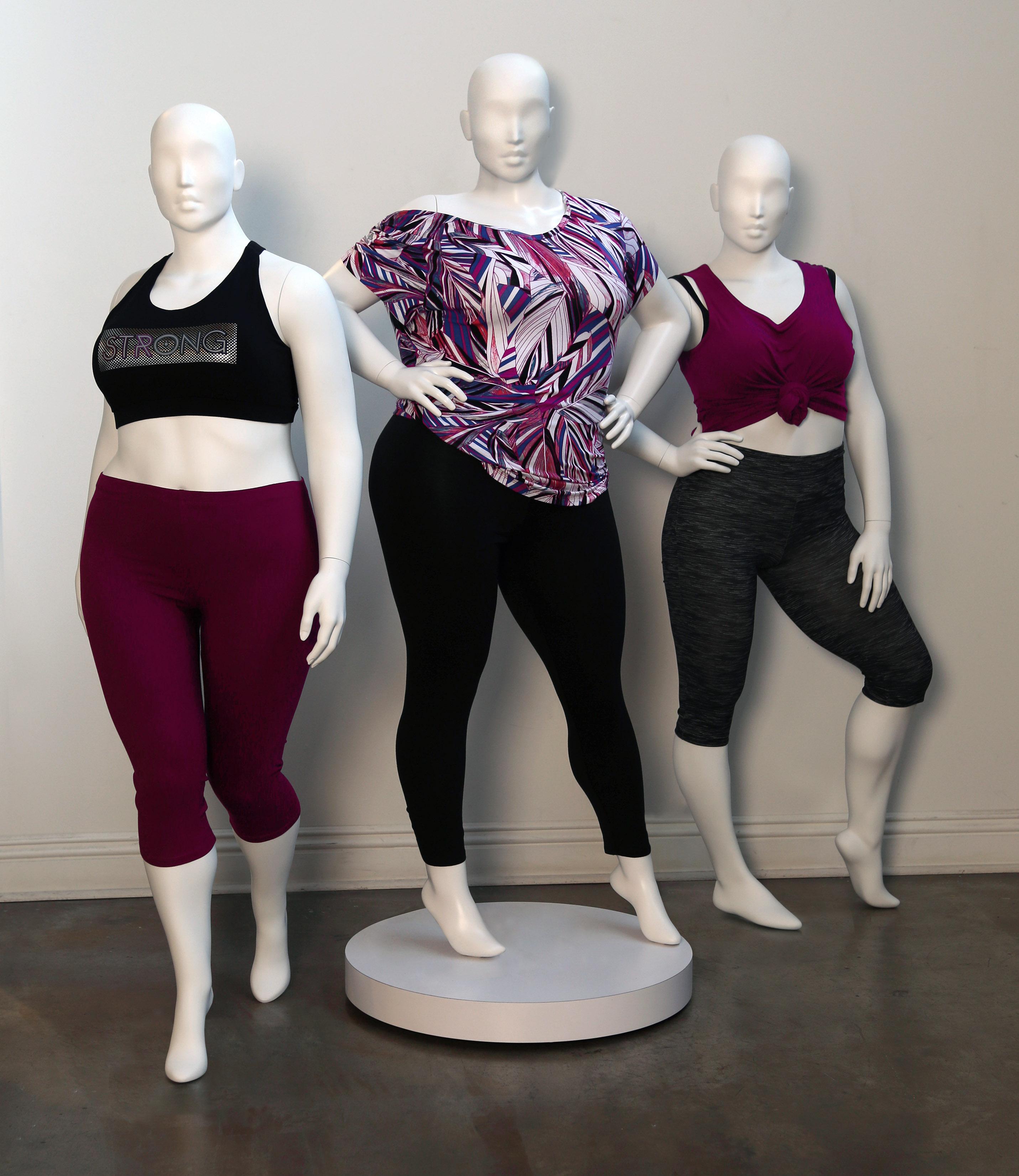 Size Inclusive mannequins