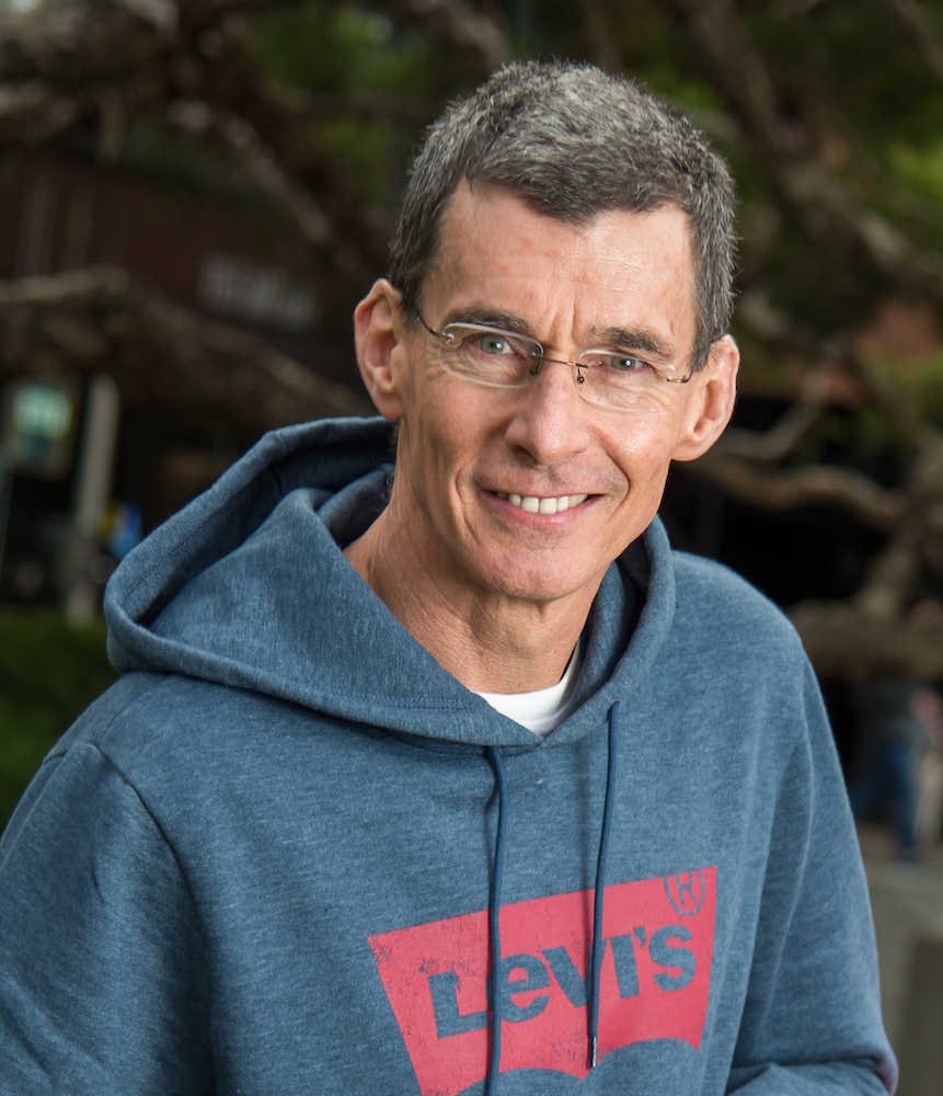 Levi's Chip Bergh explained the importance of political involvement to shareholders during an annual meeting on Wednesday.