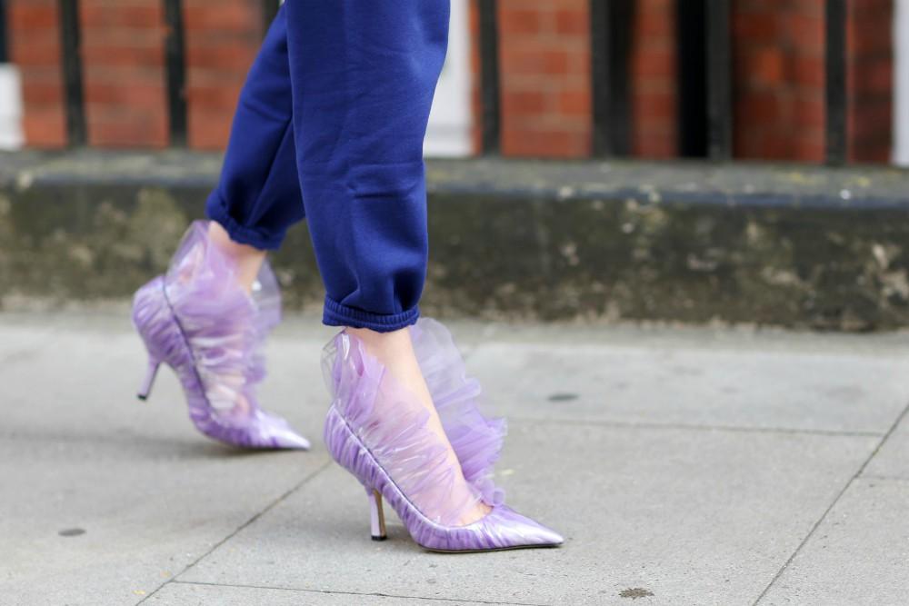 EDITED lavender footwear trend