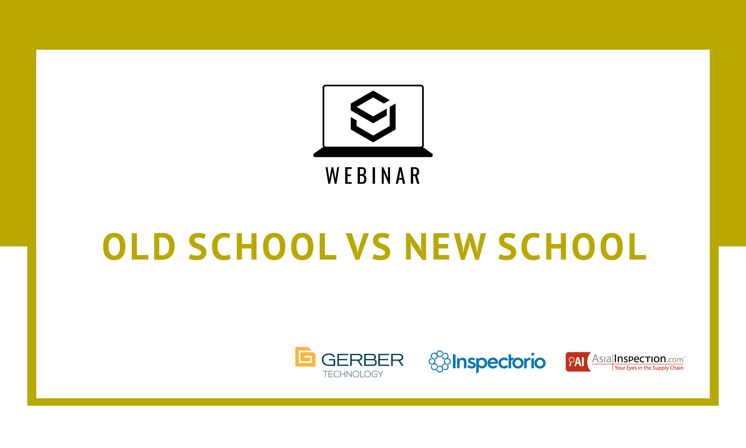 SJ Webinar: Old School vs. New School