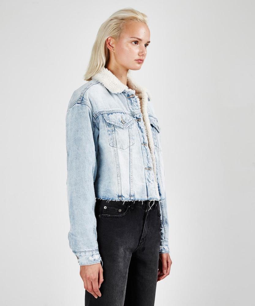 Ksubi sherpa jean jacket
