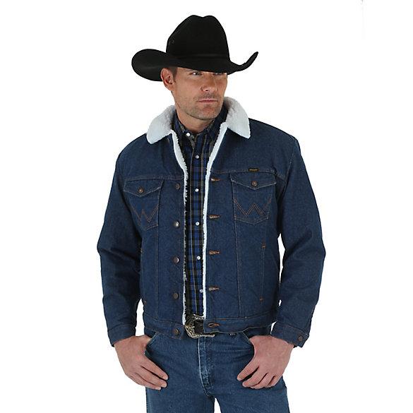 Wrangler Western sherpa lined jacket