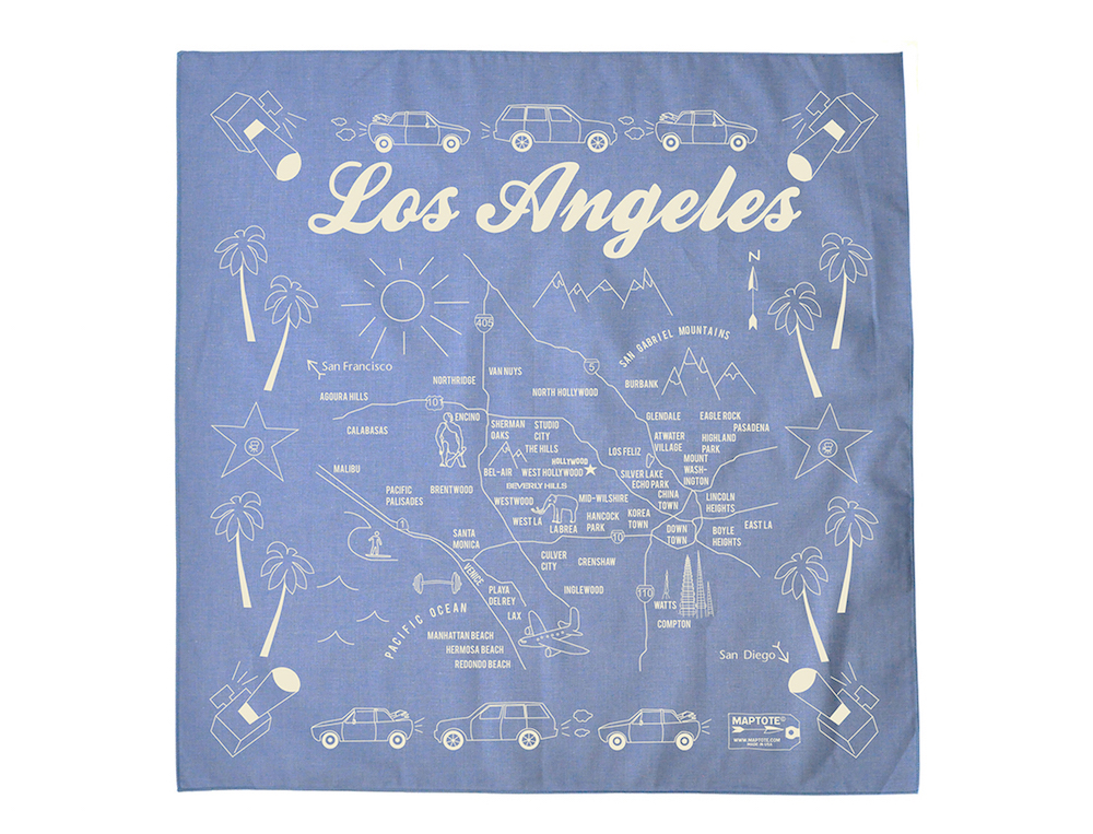 Los Angeles bandana by Maptote