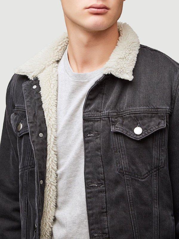 Frame L'Homme Sherpa jacket