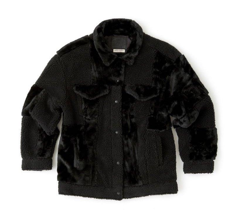 Levi's patchwork Trucker jacket