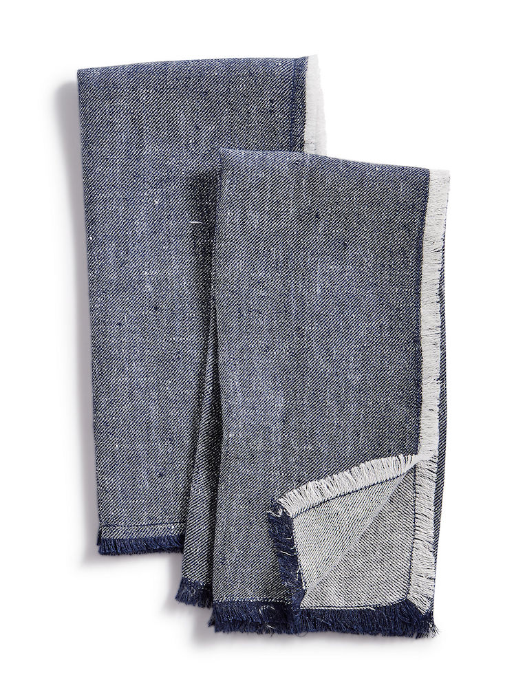 Set of two denim napkins by Lucky Brand