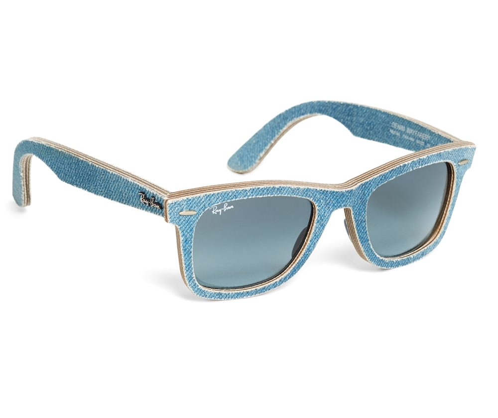 Ray-Ban Wayfarer denim sunglasses