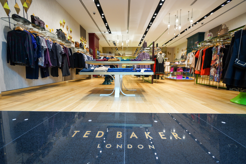 Ted Baker store front
