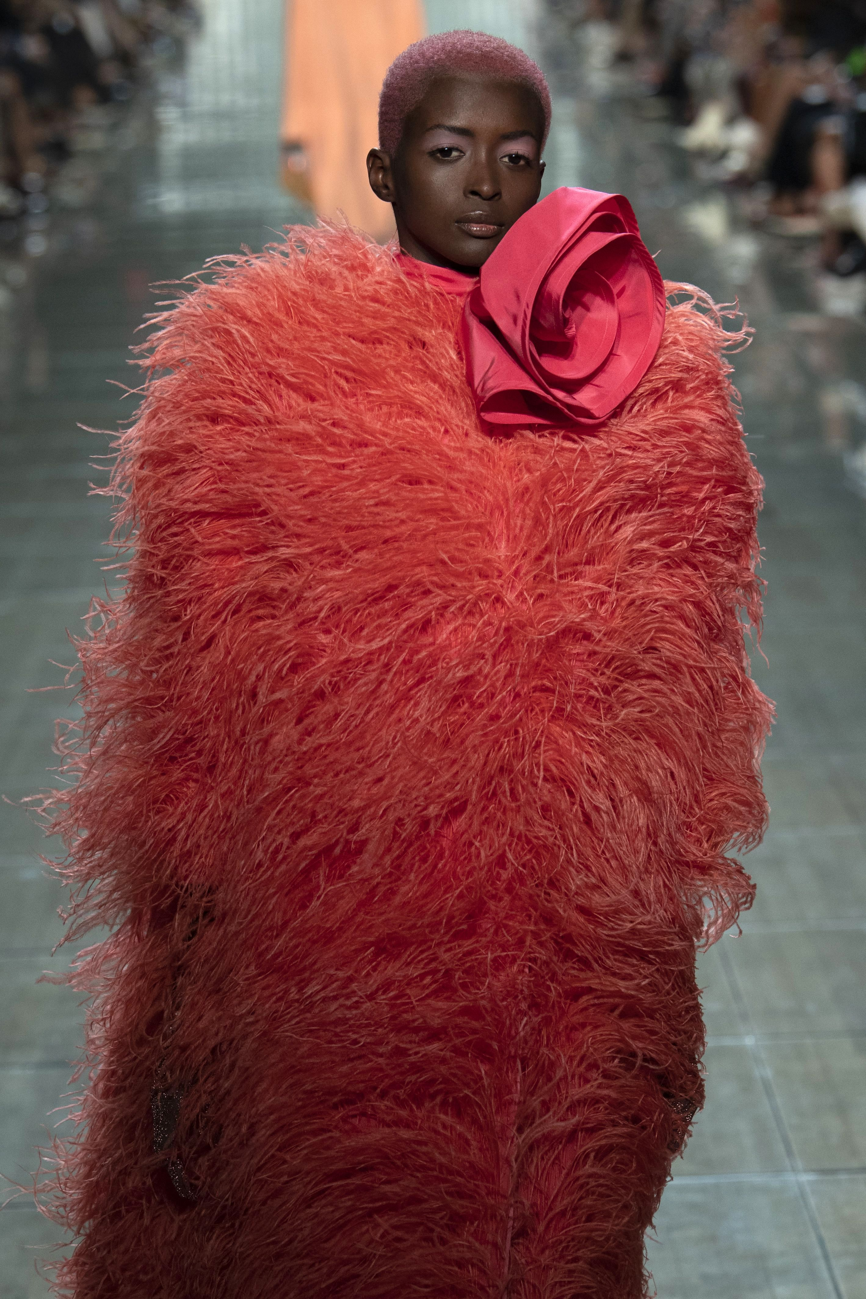 Model on the catwalk Marc Jacobs show, Runway, Spring Summer 2019, New York Fashion Week, USA – 12 Sep 2018