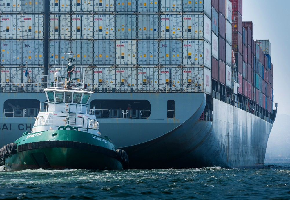 trump trade war unexpected bonus bloomberg
