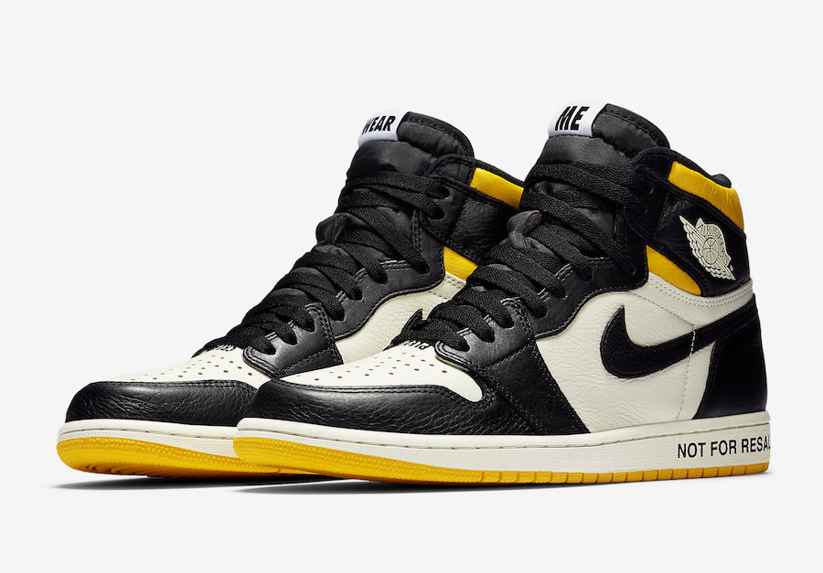 "The cheekiest of all the sneakers on the list, the Nike Jordan 1 ""Not For Resale"" silhouette is a parody of the sneaker resale busines and one of the most popular sneakers in the market."