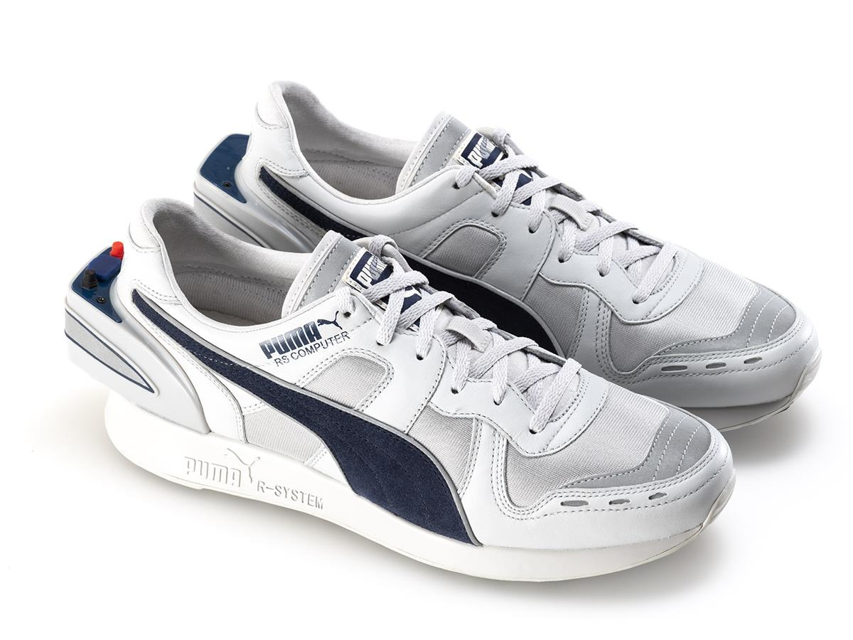 "Puma's new take on its old 1986 ""computer shoe"" design introduced some modern amenities, like USB support."