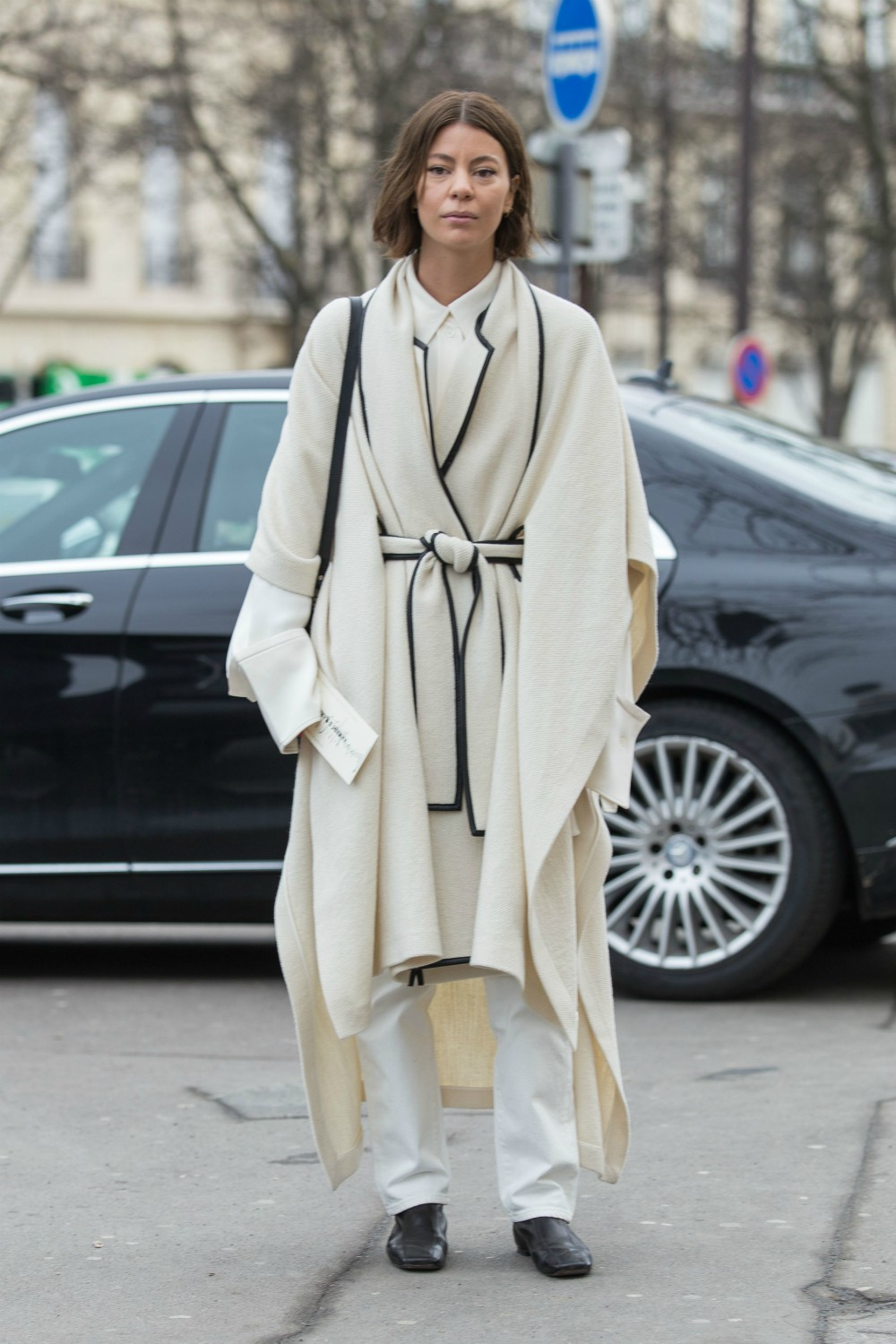 Fashion continues down the casualization road as styles typically only seen inside the home step out onto center stage. Following the pajama trend comes the advent of robes and wrap-style outwear as consumers embrace comfort on the fashion front. People searched for robe-inspired silhouettes 689 percent more in 2018 than in the previous year, according to Pinterest.