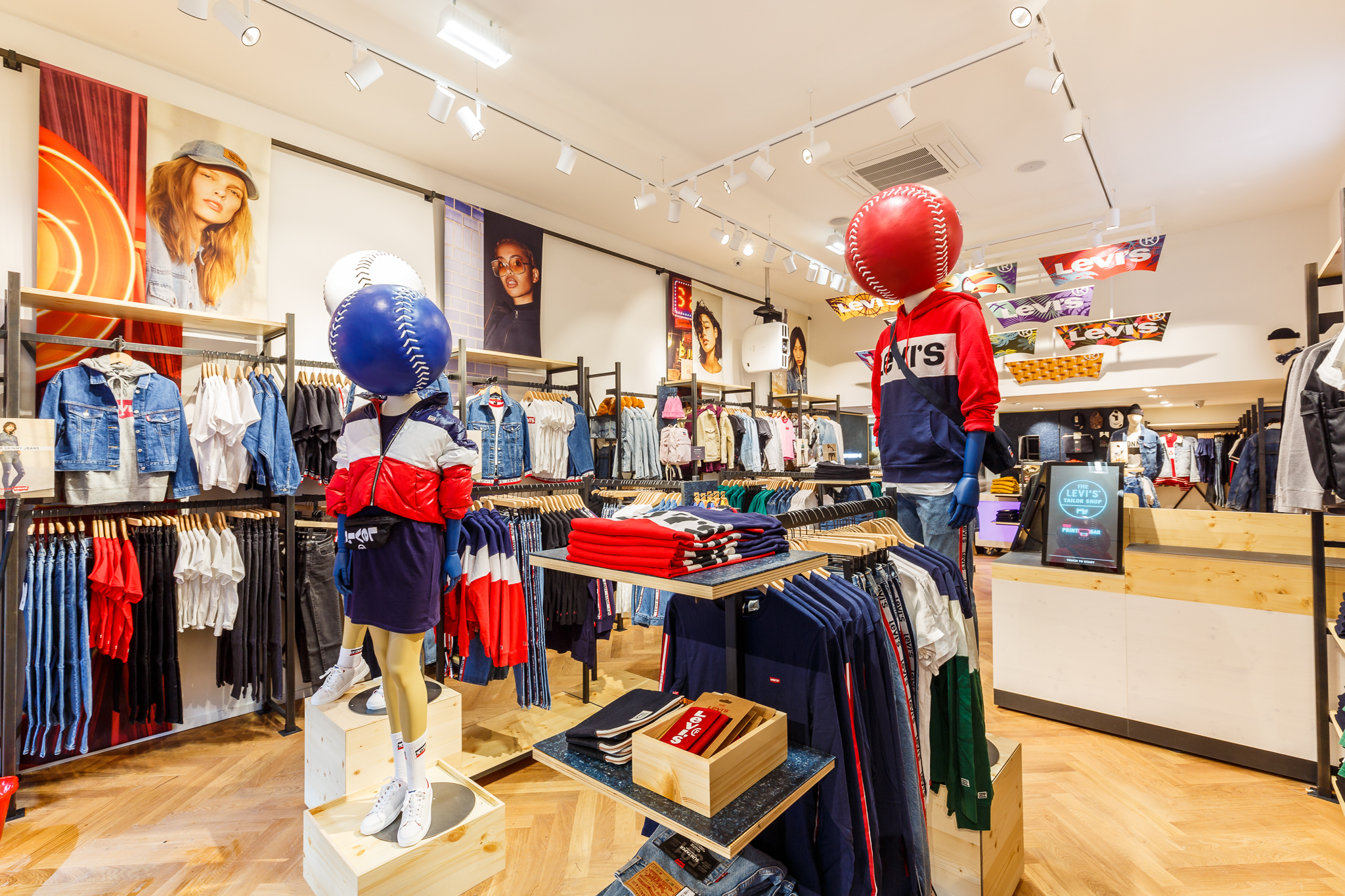 Gen Z Levi's store