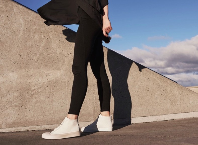 "The hero of the Danish brand's collection is the Flexure T-Cap, ""a refined take on the iconic shell-toe sneaker,"" in both low and high-top versions for men and women. The shoe will be built on an Ecco's signature Fluidform injection-molded cup sole, crafted for ""resilience and shock absorption,"" said Trine Andersen."