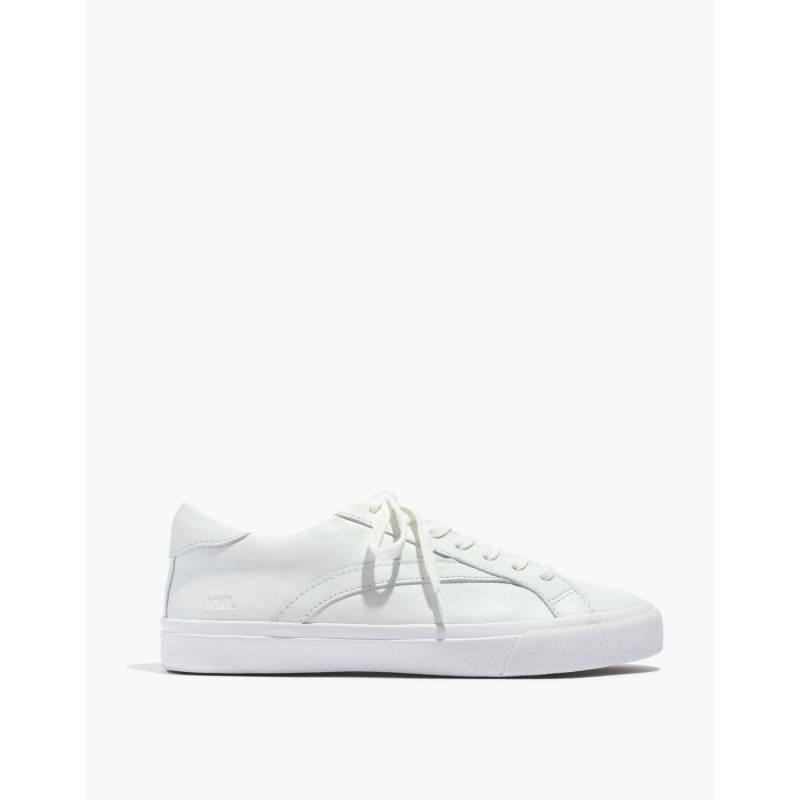 Sidewalk Low-Top Sneakers in Leather