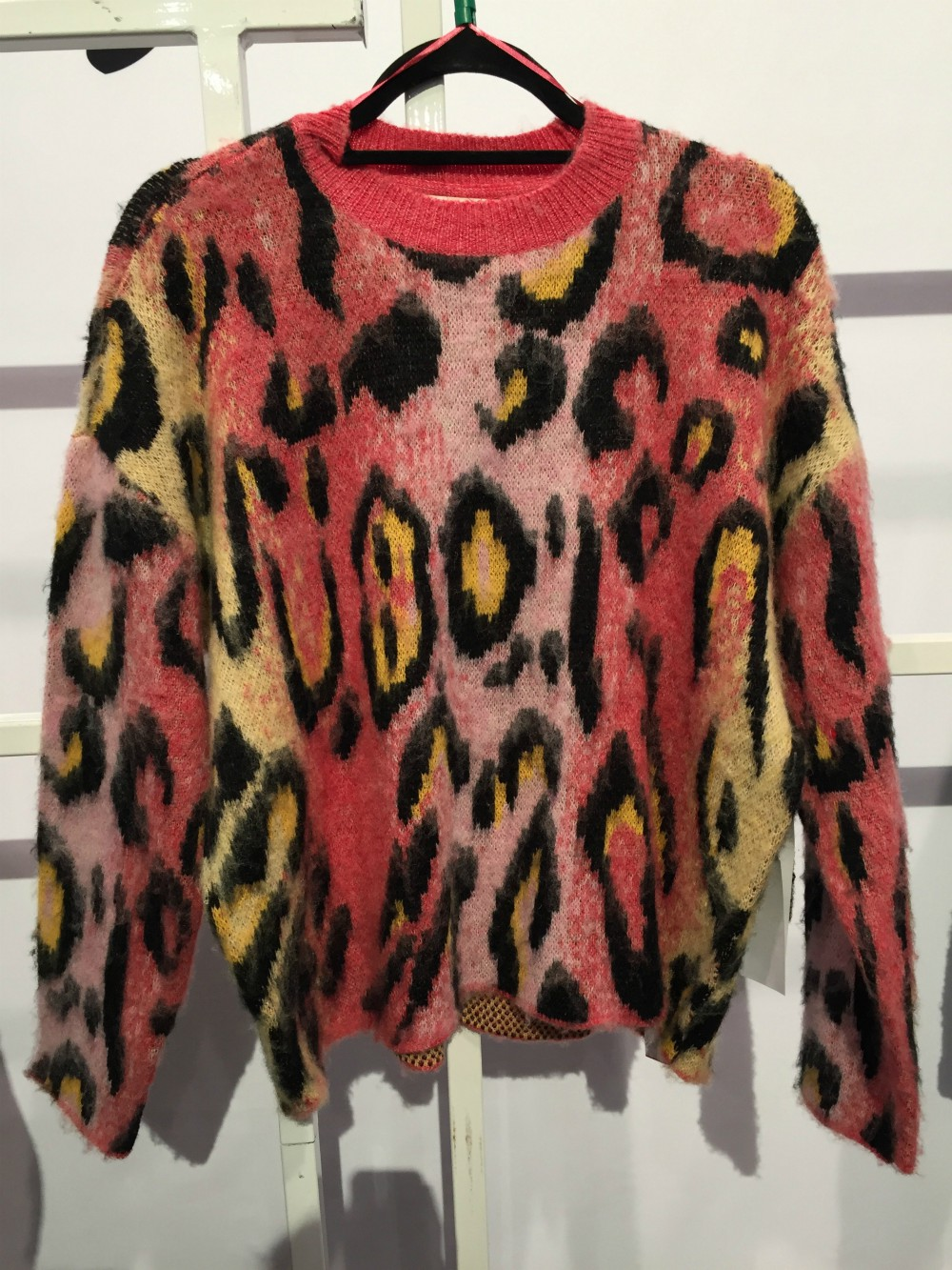 """""""Instead of just organic browns, we layered those natural colors with spices, burgundies and citrons,"""" Alex Birenbaum, account manager for RD Style, said of the animal print trend. Bringing together a """"combination of materials"""" like soft, fuzzy yarns more silky weaves helped create texture, she explained. """"We were looking to enrich the trend with more dimension and depth this season."""""""