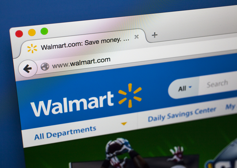 Walmart posted 43% gain in online sales for Q4.
