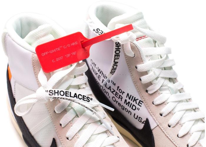 3. Off-White x Nike Blazer Mid — 362%