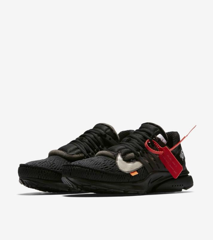 2. Off-White x Nike Air Presto — 400%