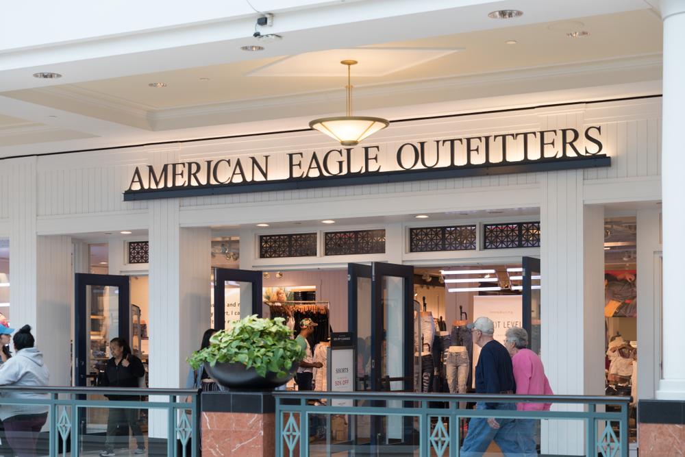 American Eagle storefront