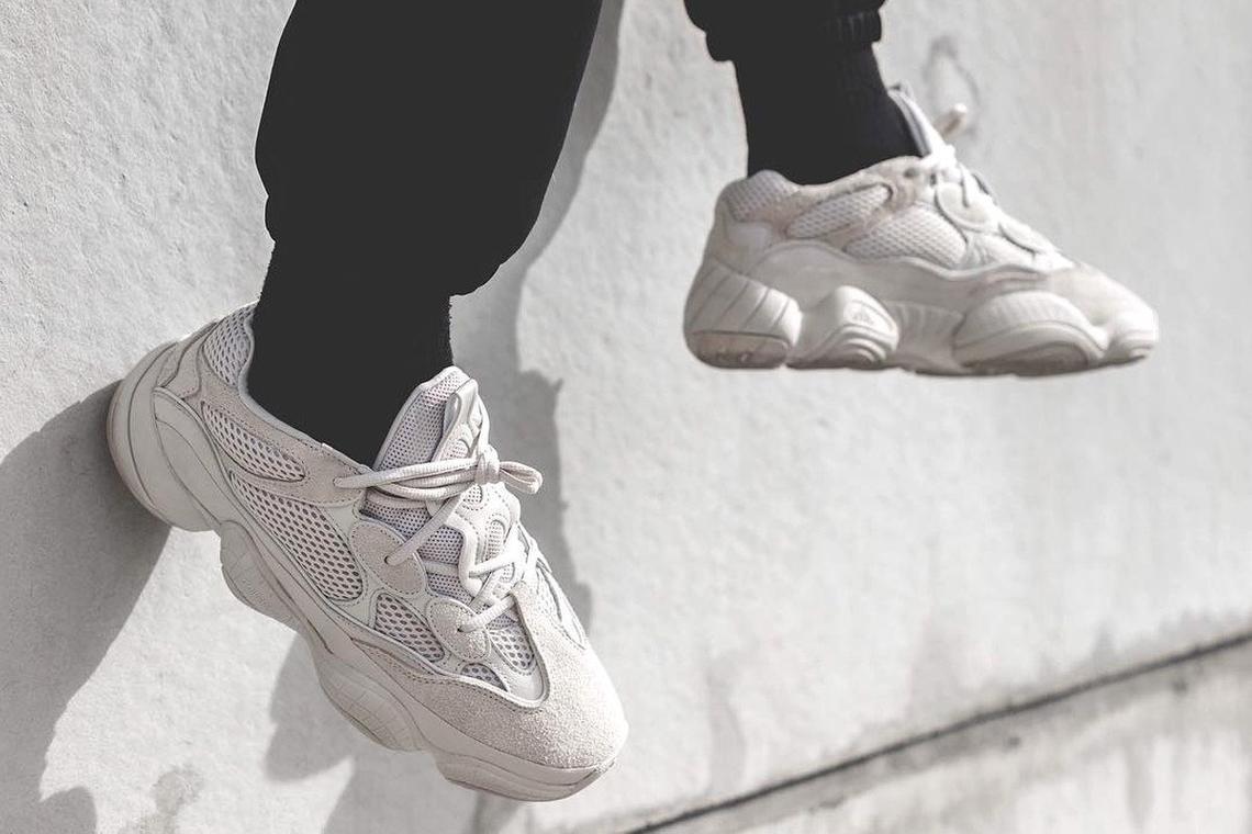 3.Adidas Yeezy 500
