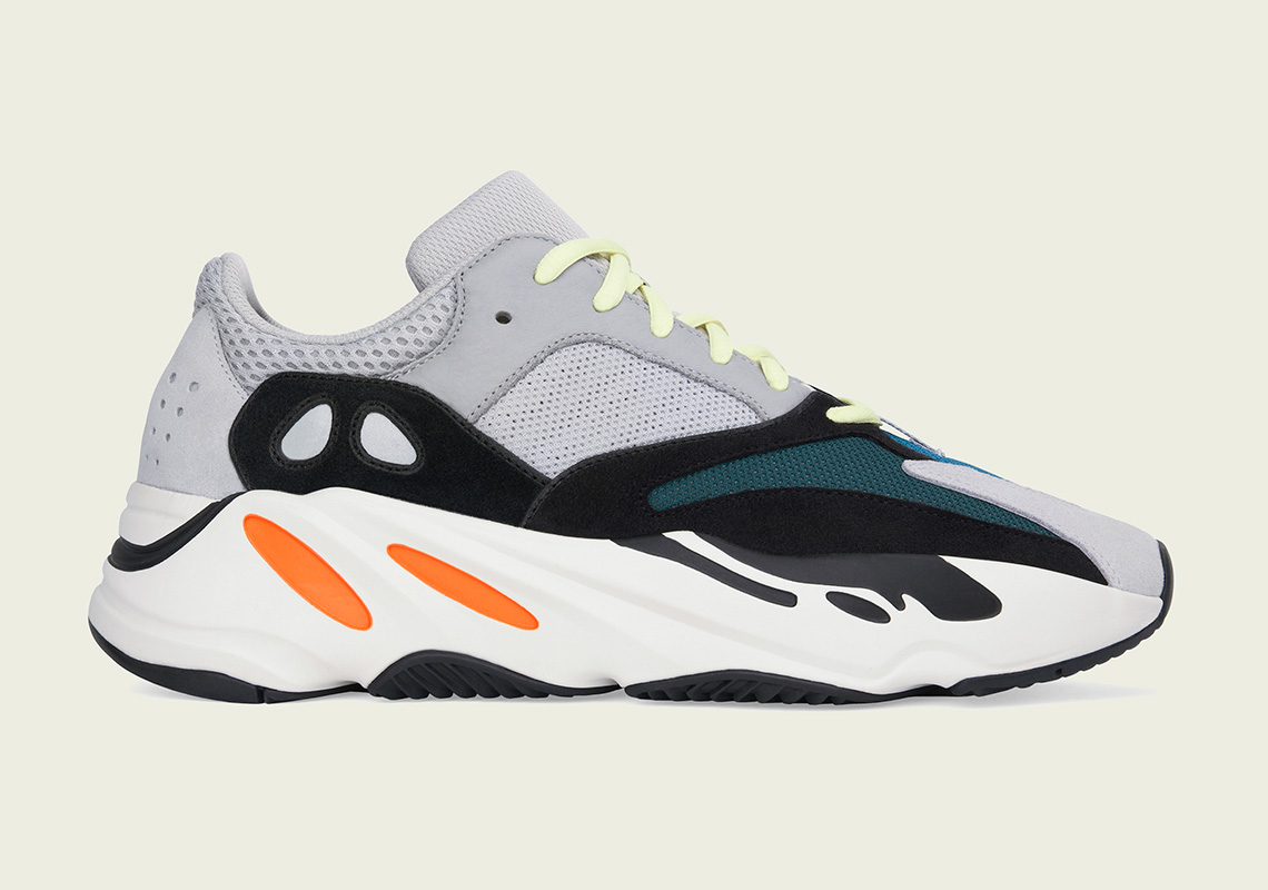 "3. Adidas Yeezy Boost 700 ""Solid Grey"" or ""Wave Runner"""