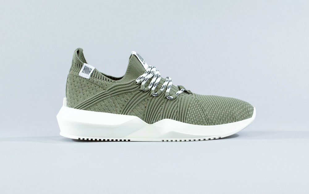 Made in Portugal, the shoes feature100 percent recycled polyester3D-knit uppers, laces and labels and75 percent recycled (and recyclable) rubber soles.