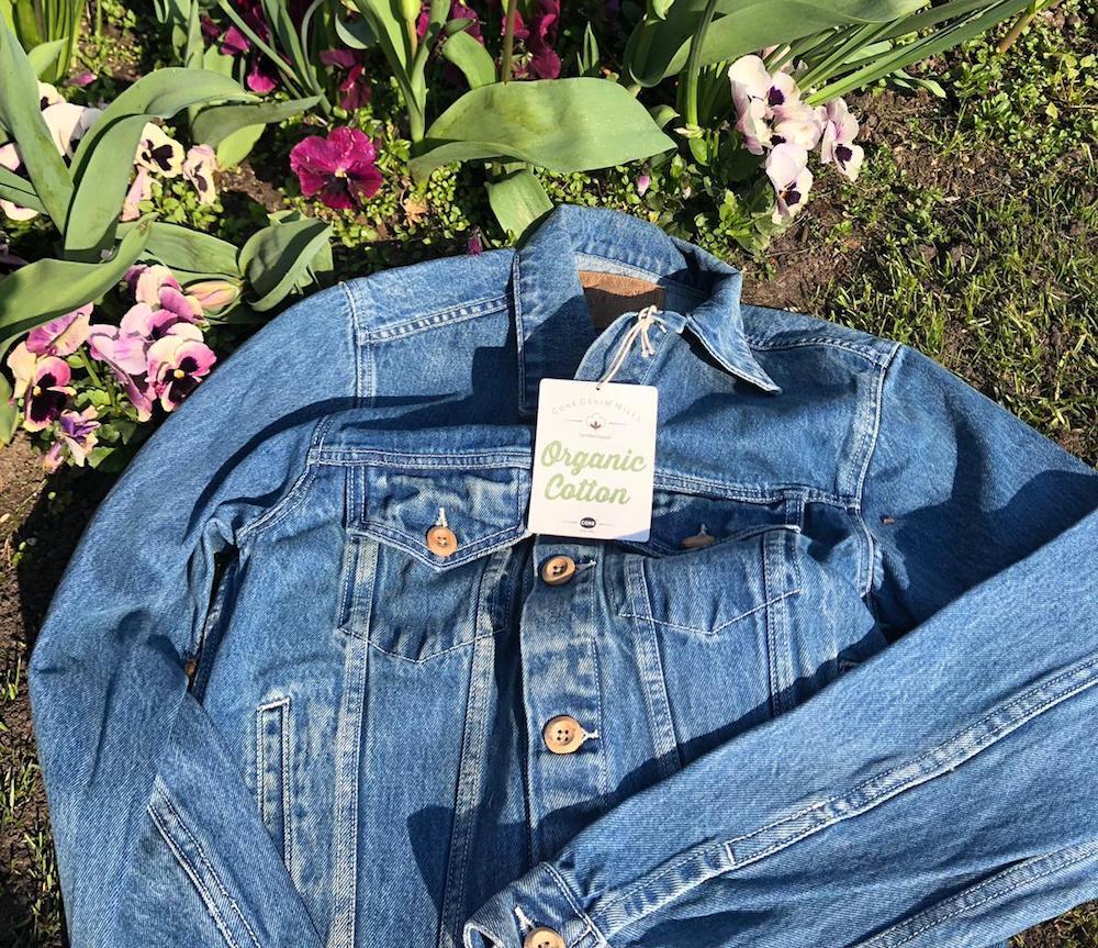 Cone denim organic cotton jacket