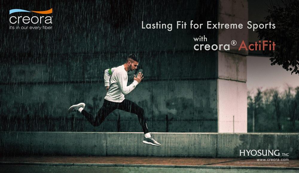 Creora ActiFit performance fiber endurance sports