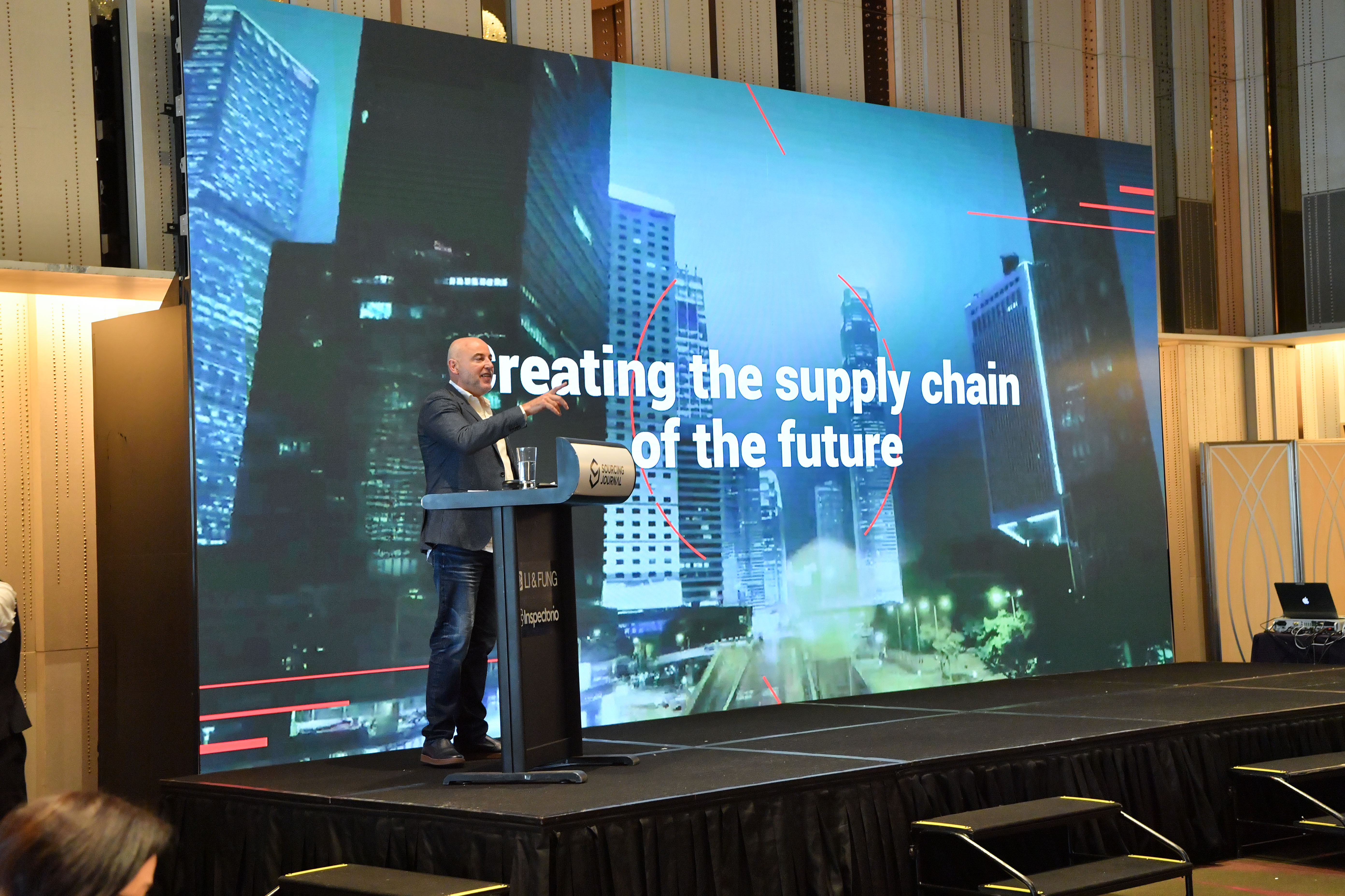 Sean Coxall, Li & Fung president of supply chain solutions, speaks at Sourcing Summit: Hong Kong on May 8, 2019.
