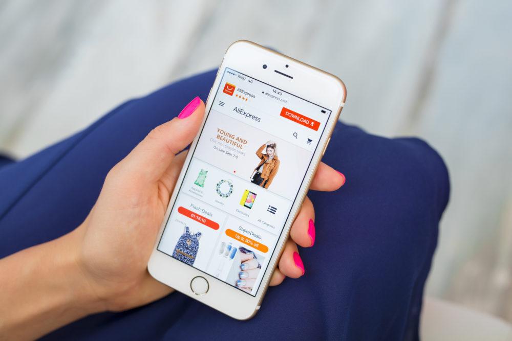 AliExpress Alibaba Klarna Pay Later checkout