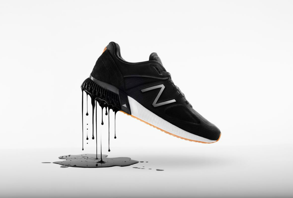 New Balance's new 3-d printing platform created this 990 sport sneaker