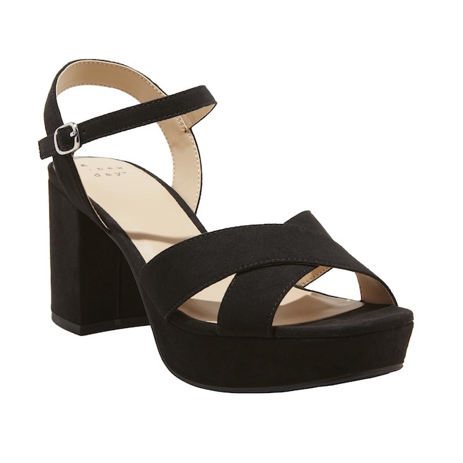 "A New Day ""Gabriella"" mid-heel platform pumps"