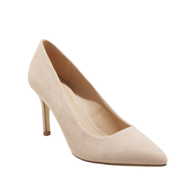 "A New Day ""Gemma"" pointed-toe heel pumps"