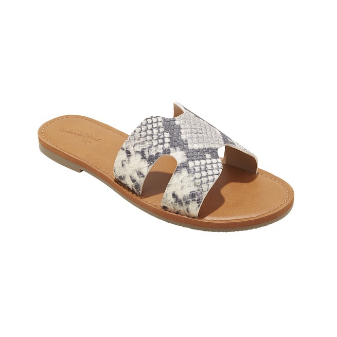 "A New Day ""Jenny"" slide sandals"