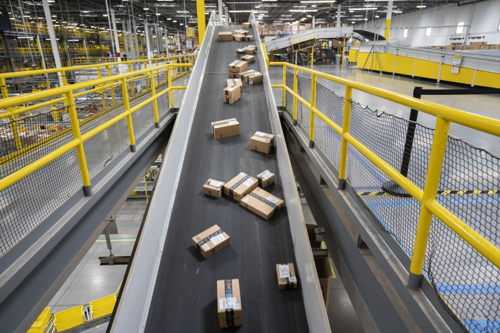 Amazon.com Inc. fulfillment center in Baltimore.