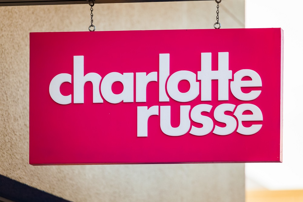 charlotte russe to open 100 stores after bankruptcy
