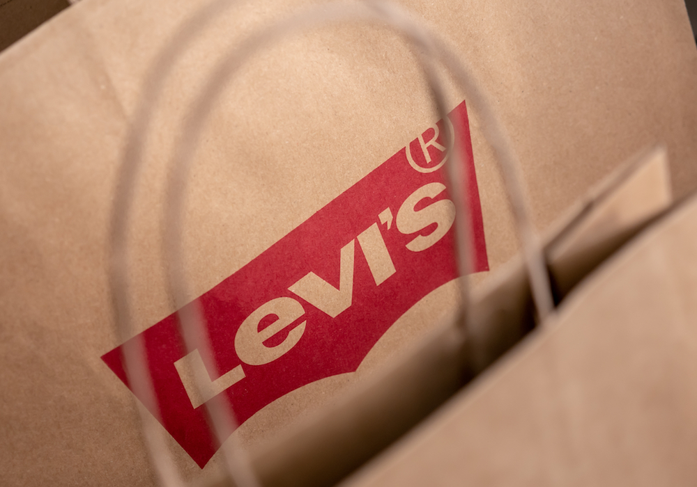 Levis shopping bag