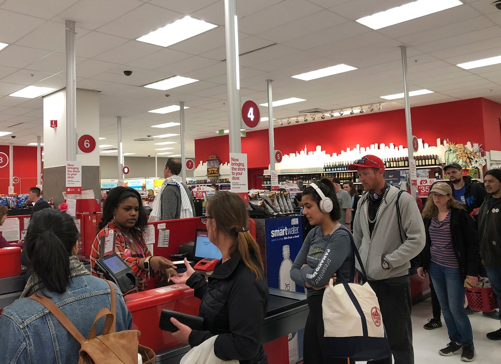 target register outage father's day weekend
