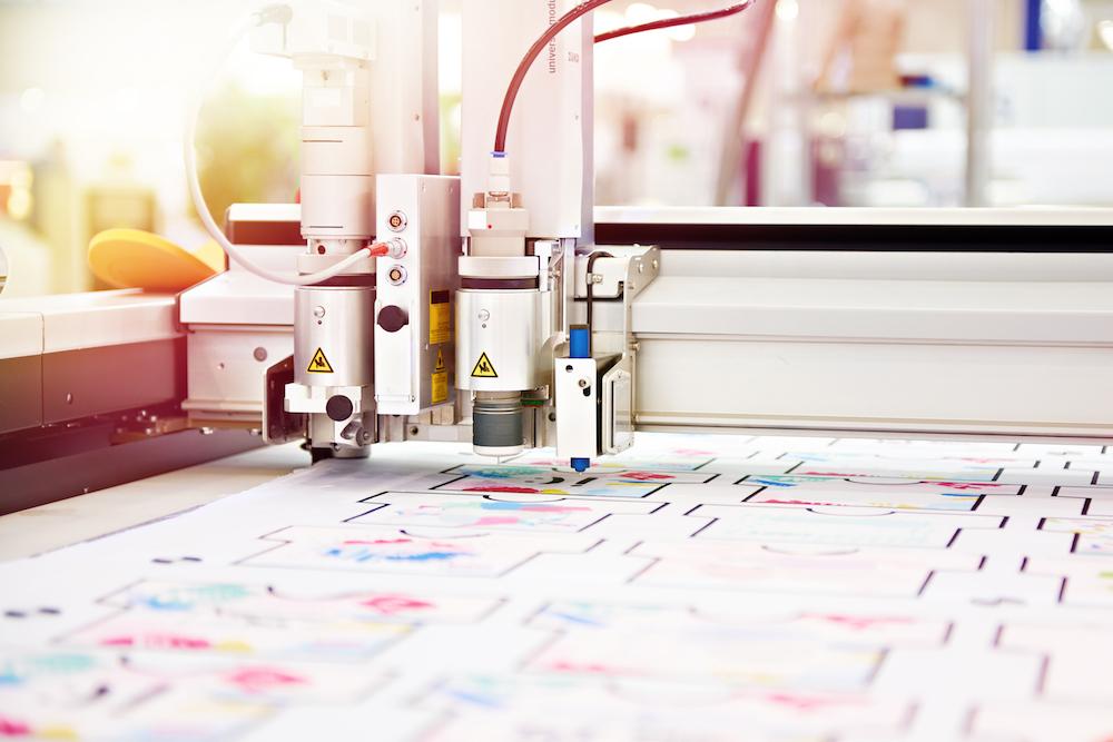 Machine drawing pattern fabric