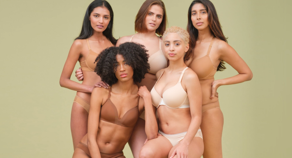 Lively's Go Nude collection features five different skin tone-inspired shades