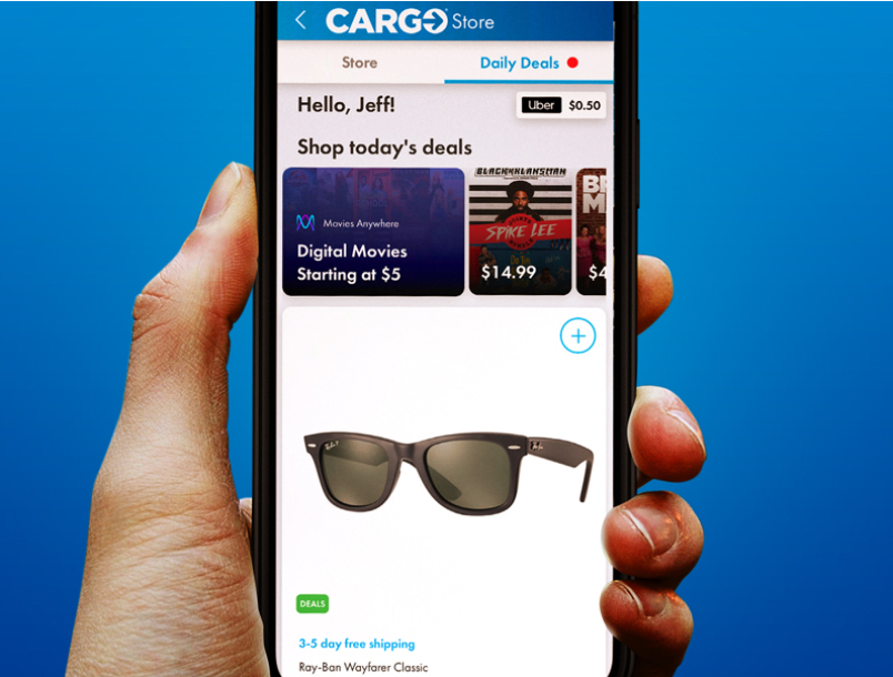 Uber's partnership with Cargo offers riders e-commerce deals and discounts