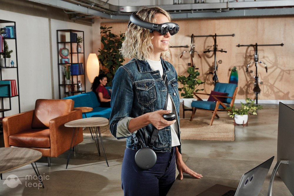 magic leap virtual reality headset to combine with CGTrader's 3-d models for shopping experience
